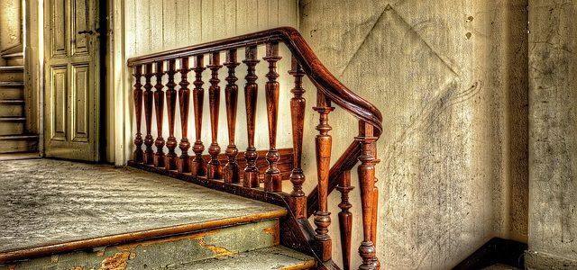מדרגות הדורשות ליטוש מדרגות